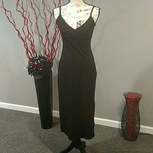 Gap Simple Tank Black Dress XS